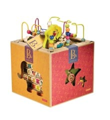 B. Toys - Zany Zoo Wooden activitycenter (1004)