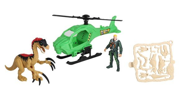 Dino Valley - Dino Attack Playset w/Helicoptor