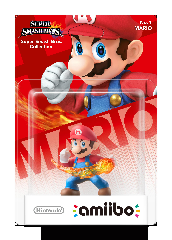 Nintendo Amiibo Figurine Mario