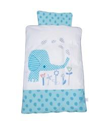 Baby Dan - Baby Bedlinen Elefantastic Blue
