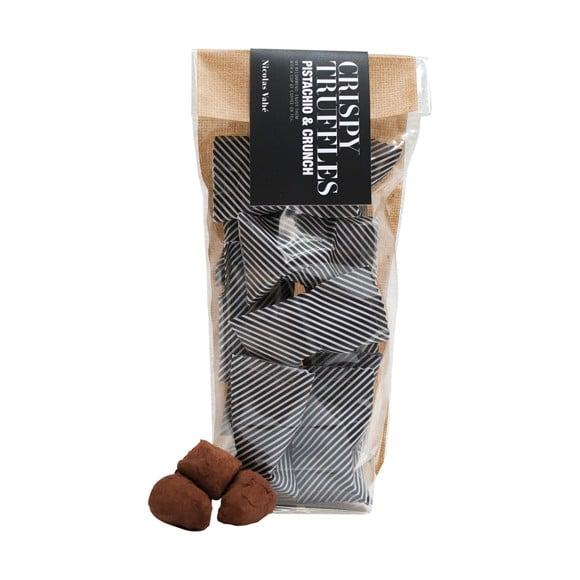 Nicolas Vahé - Chokoladetrøffel Med Pistacie & Knas 110 g