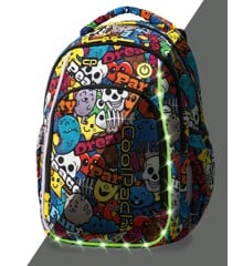 Coolpack - LedPack Schoolbag - Cartoon