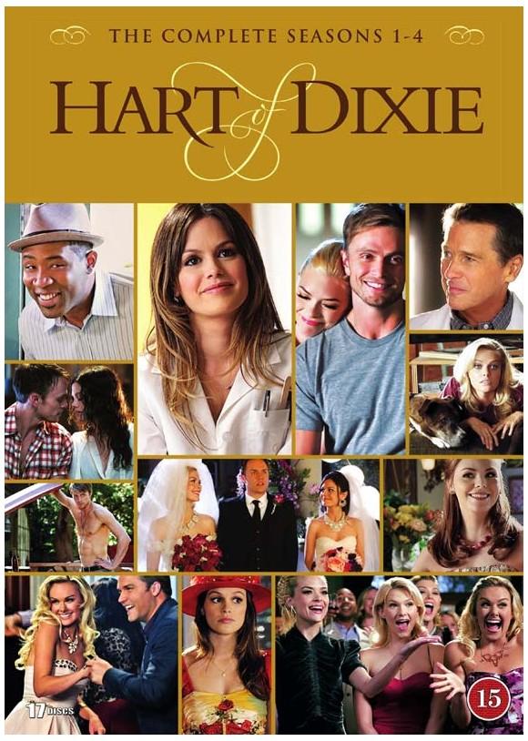 Hart of Dixie: Complete Box - Sæson 1-4 - DVD