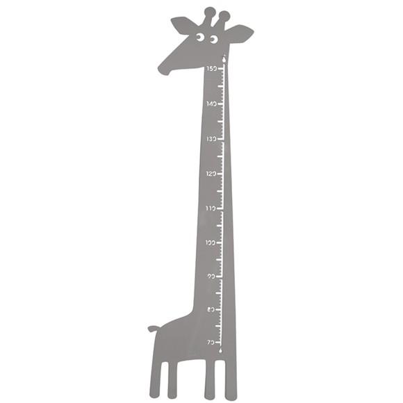 Roommate - Giraf Højdemåler 115 x 28 cm - Grå