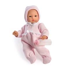 Asi dolls - Koke doll in rose suit, 36 cm