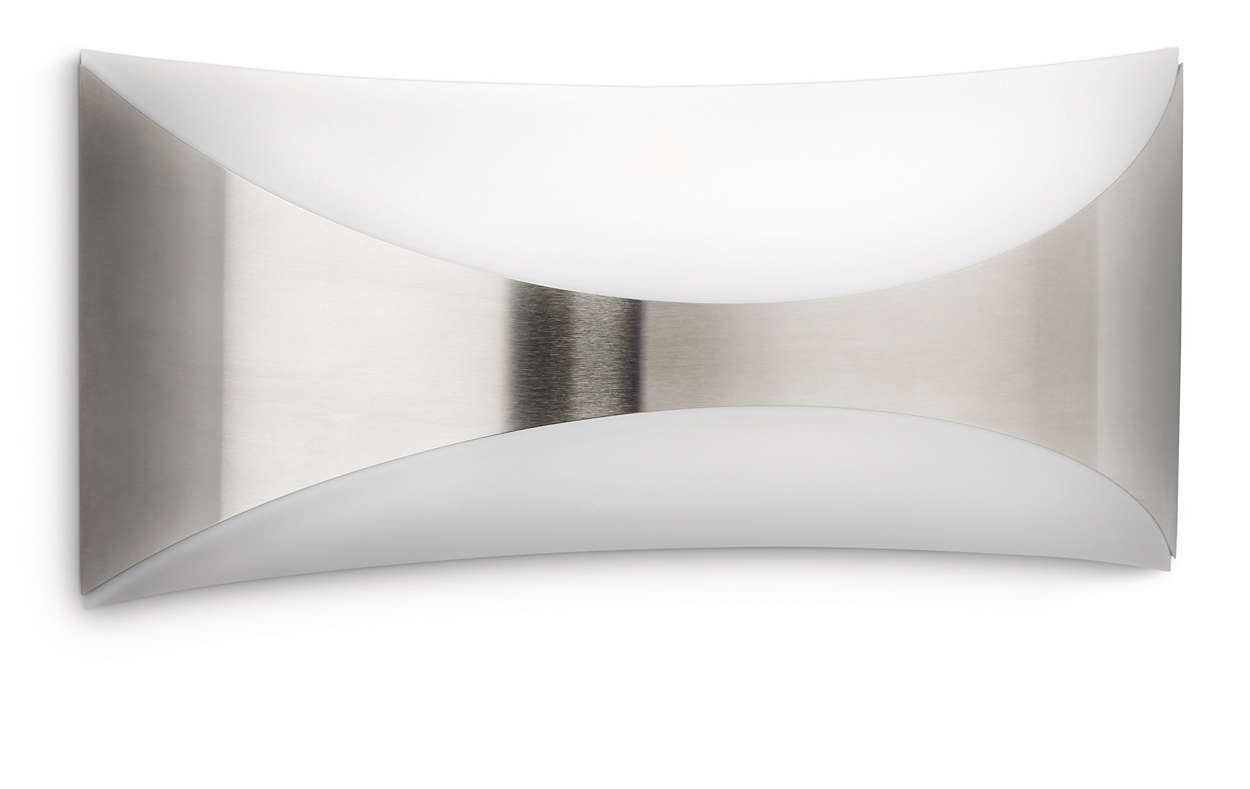 Philips - Wall Light Seedling Inox - myGarden