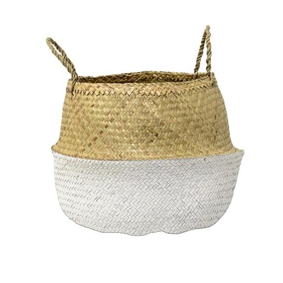 Bloomingville - Basket - White (90901759)
