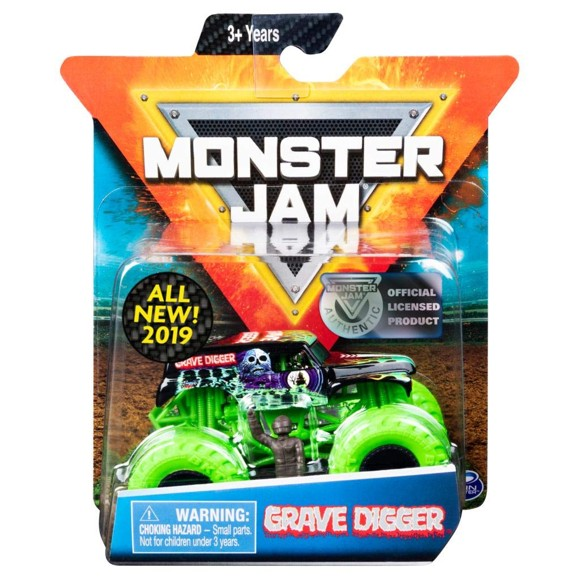 Monster Jam - 1:64 Single Pack - Grave Digger (20105554)