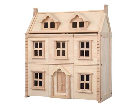 Plan Toys - Victorianisches Puppenhaus (7124)