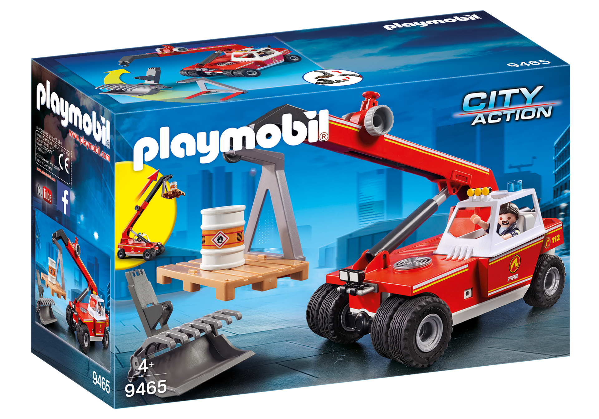 Playmobil - Fire Crane (9465)