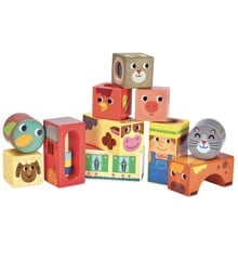 Vilac - Musical Blocks - Farm Animals