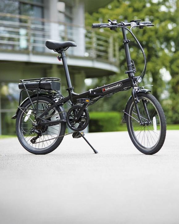 "Bikemate - Elektrisk/Hybrid Cykel 20"" 250w - Sort"
