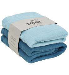 ​Pippi - Organic Cloth Muslin 2-pack