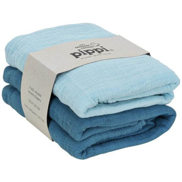 Pippi - Organic Cloth Muslin 2-pack