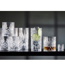 Lyngby Glas - Crystal Melodia Glass Set Of 12 (916186)