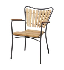 Cinas - Hard & Ellen Garden Chair - Antracit (3515136