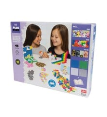Plus Plus - Pastel Learn to Build Mega, 1200 pc (2-766)