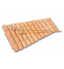 Bontempi - Xylofon i træ med 12 toner