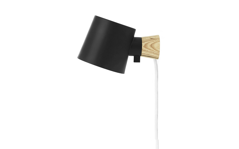 Normann Copenhagen - Rise Væglampe - Sort