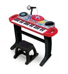 Winfun - Rockstar Keyboard med Skammel