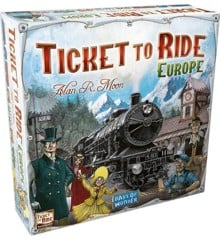 Ticket to Ride - Europe (DK)