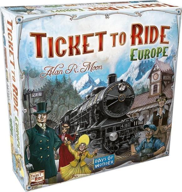 Ticket to Ride - Europe (DK)