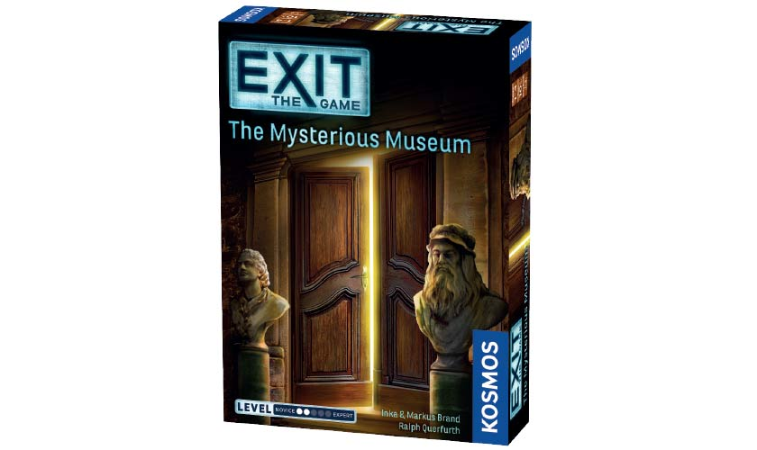 Exit: The Mysterius Museum - Escape Room Game (English)