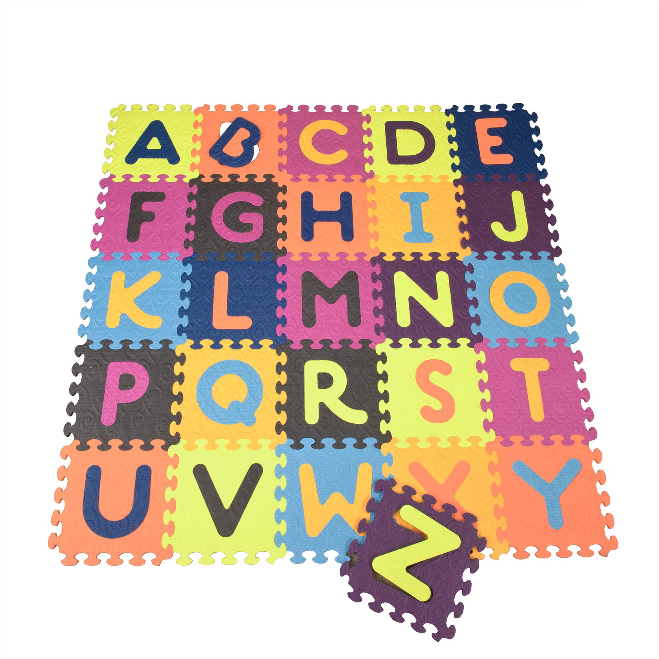 B Toys 26 Alphabet Foam Tiles