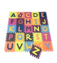 B. Toys - Alfabet legegulv i skum (1210)