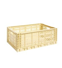 HAY - Colour Crate Kasse Large - Lys Gul