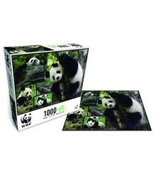 WWF - Puslespil - Panda (1000 brk.)