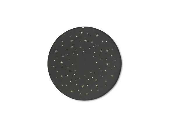 ​Ferm Living - Star Christmas Tree Blanket - Dark Green (100515408)