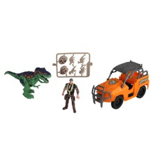 Dino Valley - Dino Attack Legesæt m/Jeep