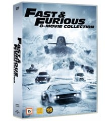 Fast & Furious: 8-Movie Collection - DVD