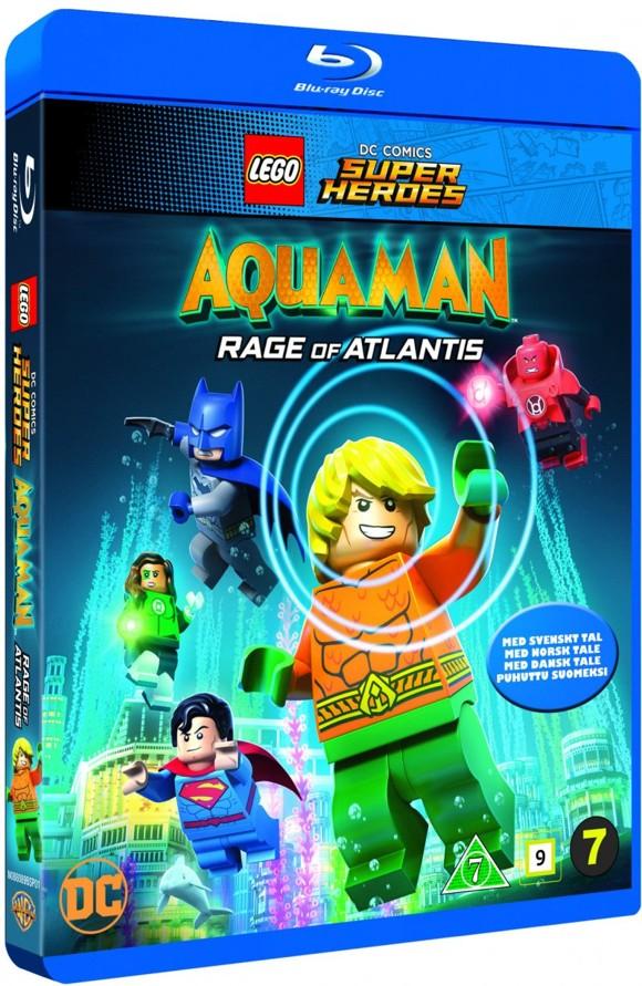 Lego DC aquaman: rage of atlantis