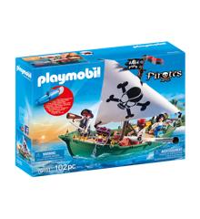 Playmobil - Piratskib med undervandsmotor (70151)