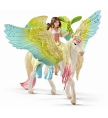 Schleich - Fairy Surah med Glitter Pegasus (70566)