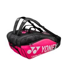 Yonex - BAG9829EX Pro Racquet Bag (9pcs) Black/Pink