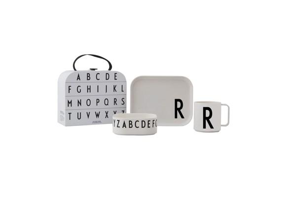 Design Letters - Gaveæske Tritan Spisesæt - R