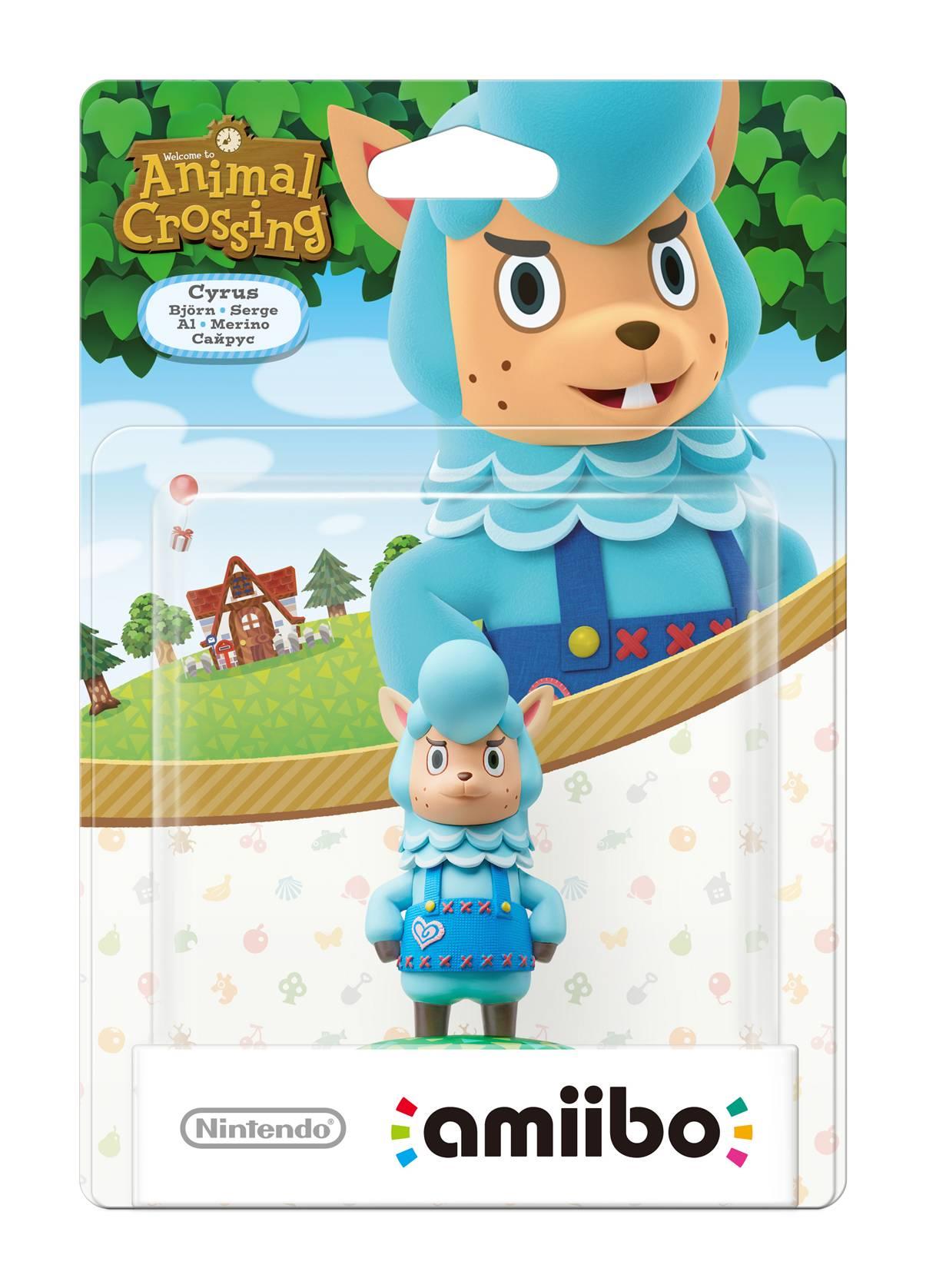 Nintendo Amiibo Figurine Cyrus