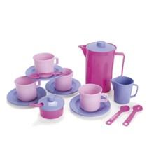 Dantoy - Kaffesæt i pink og lilla (4396)