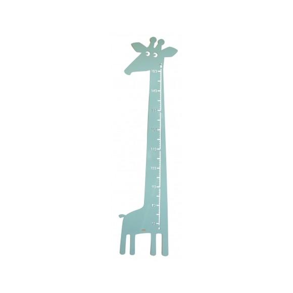 Roommate - Giraf Højdemåler 115 x 28 cm - Blå