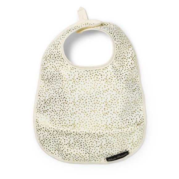 Elodie Details - Eating Bib - Gold Shimmer
