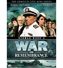 Herman Wouk - War and Remembrance - DVD