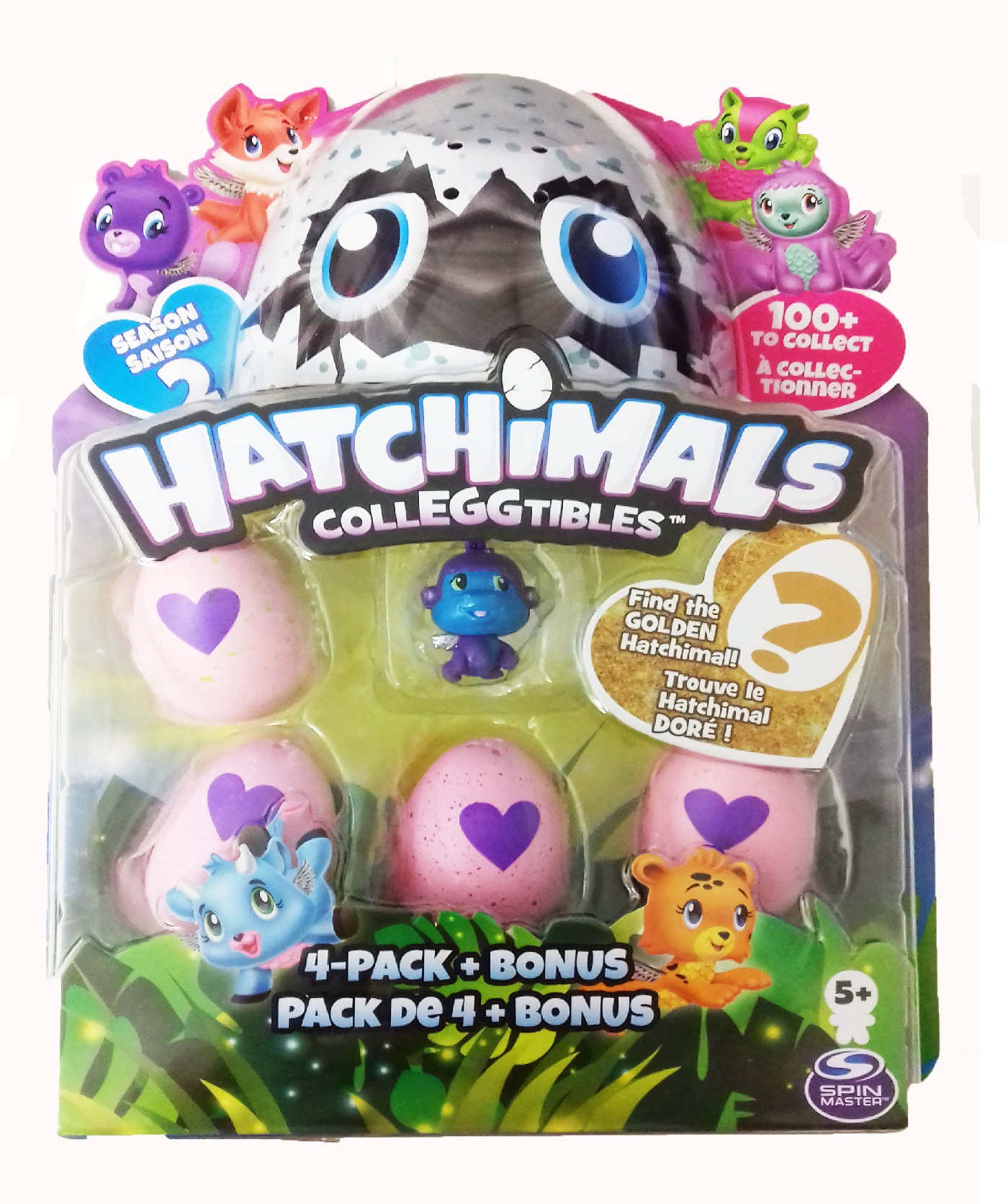 HATCHIMALS CollEGGtibles 4 PACK SEASON 1 BONUS by SPINMASTER