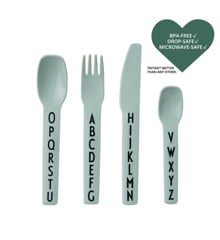 Design Letters - Kids Cutlery - Green