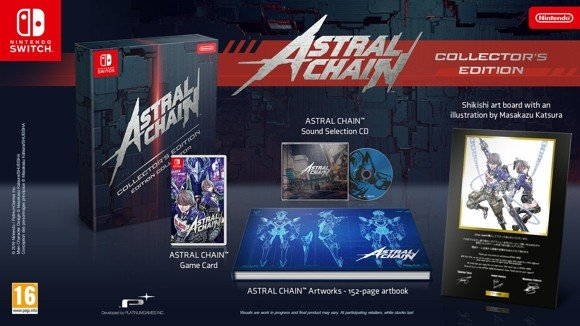 Astral Chain (Collector's Edition)