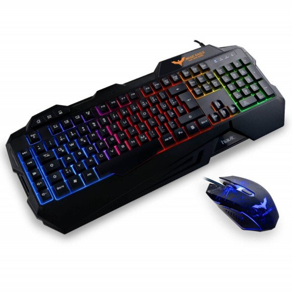 Havit - HV-KB558CM Gaming Keyboard & Mus Bundle Nordisk