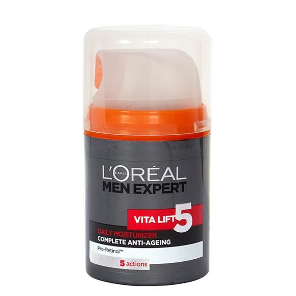 L'Oréal - Men Expert Vitalift 5 Daily Moisturiser Complete Anti-Ageing 50 ml