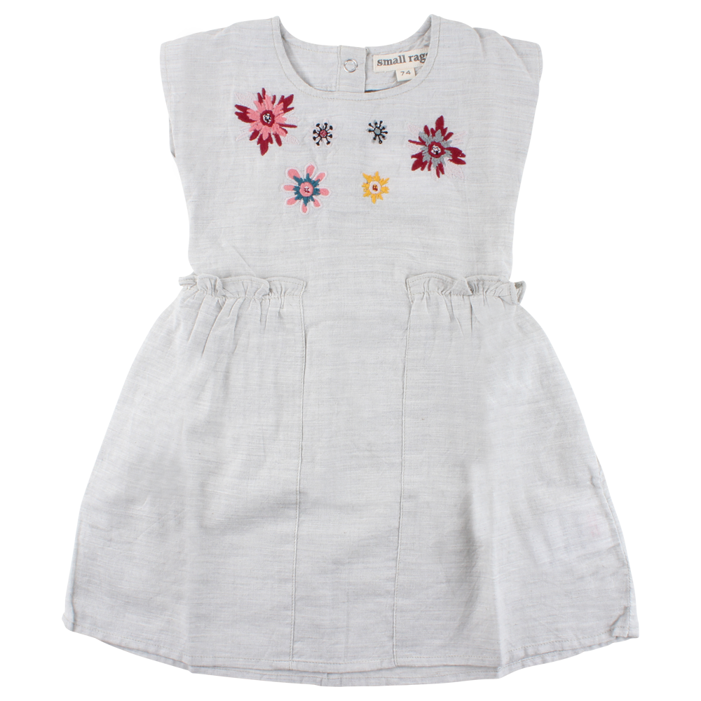 Small Rags - Dress with Flowers